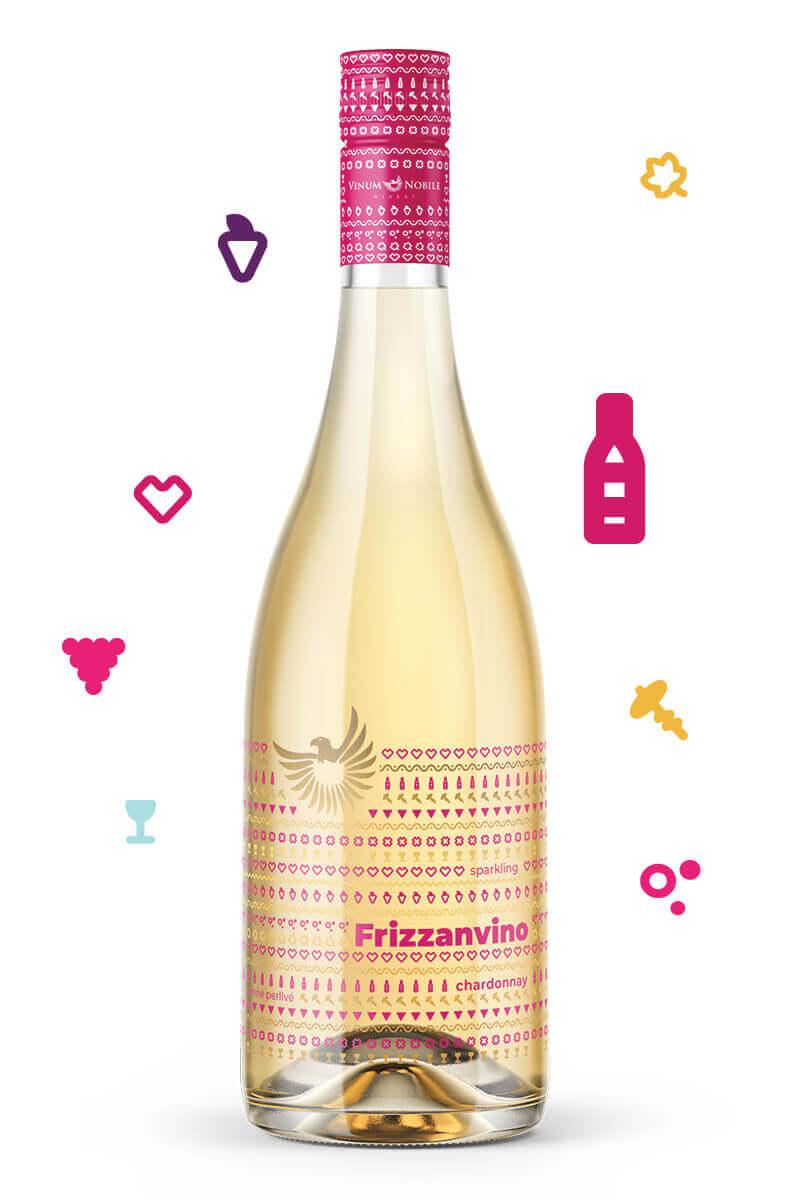 FRIZZANVINO Chardonnay | Vinum Nobile Winery | Slovenské vína svetovej kvality