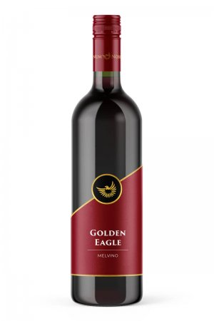 GOLDEN EAGLE Melvino 100 Merlot 2018   Vinum Nobile Winery   Slovenské vína svetovej kvality