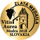 vitis aurea 2018 gold | Vinum Nobile Winery | Slovenské vína svetovej kvality